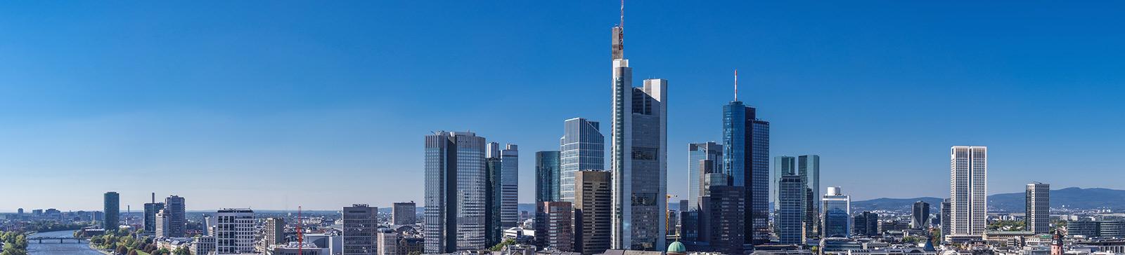Rechtsanwältin Angela-Jehrke – Skyline von Frankfurt